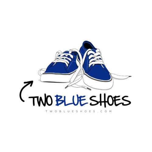Two Blue Shoes
