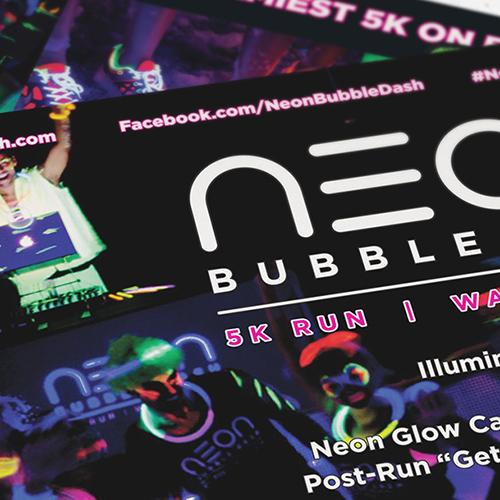 Neon Bubble Dash