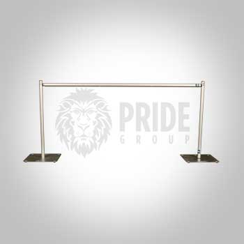 Pipe & Drape – 3' High