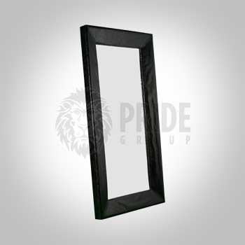 Mirror – Full Length Croc – 3' X 7' – Black