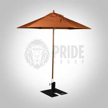 Market Umbrella 8' – Orange