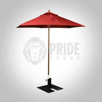 Market Umbrella 8' – Red