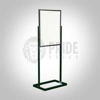 Sign Stand – Sign Stanchion – Black