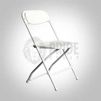 Chair – Poly Folding – White
