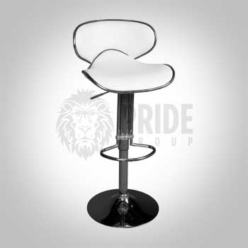 Bar Stool – Adjustable Zfly – White