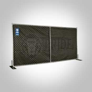 Fence – Mesh 6' Black