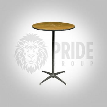"Table – 30"" Round – Hi-Top"