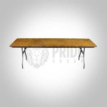 Table – 8' Banquet – Wood