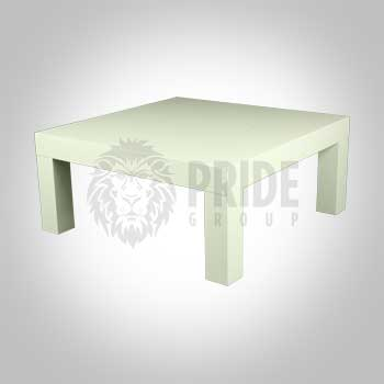 Coffee Table – Square – White