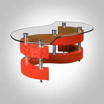 Coffee Table – Stack – Red