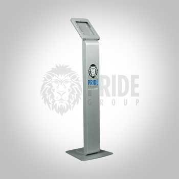 Kiosk – Ipad – Silver