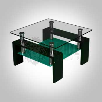 End Table – Maxim – Glass / Frost