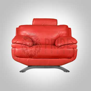 Arm Chair – Cardinal – Leather – Red